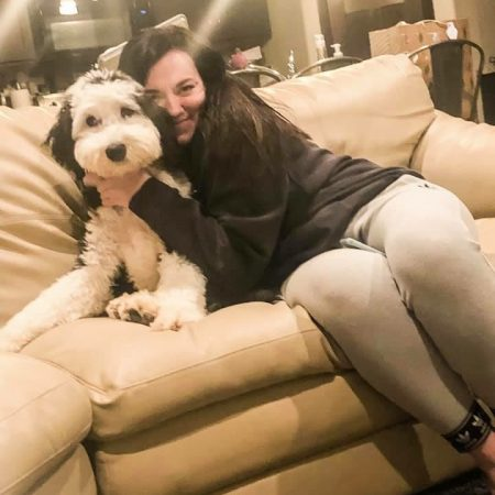 Love to our F1 Sheepadoodle